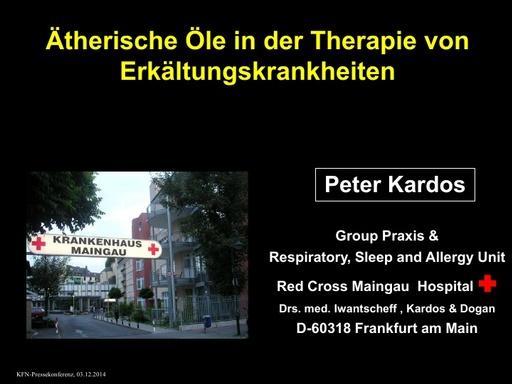 Dr Peter Kardos