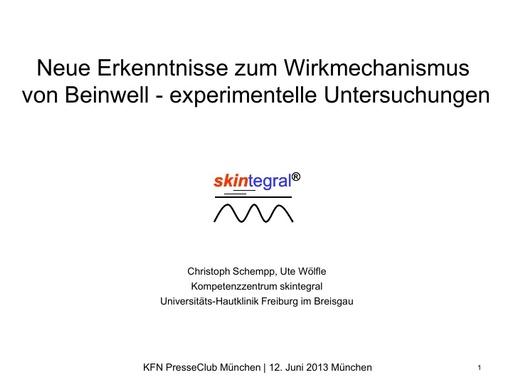 Prof Schempp Präsentation Labor