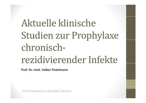 Pressemappe Prof Fintelmann
