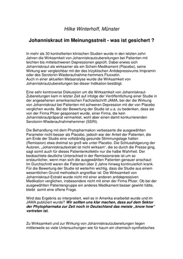 Prof  Winterhoff  Statement Juni 2001