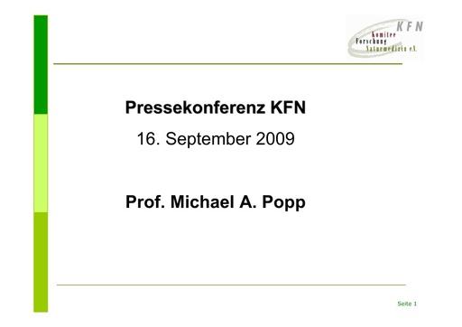 Prof  Popp Folien Sept  2009