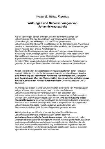 Prof  Müller Statement Juni 2001