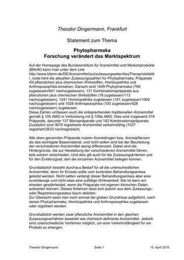 Prof Theodor Dingermann Statement 15 04 2015.pdf