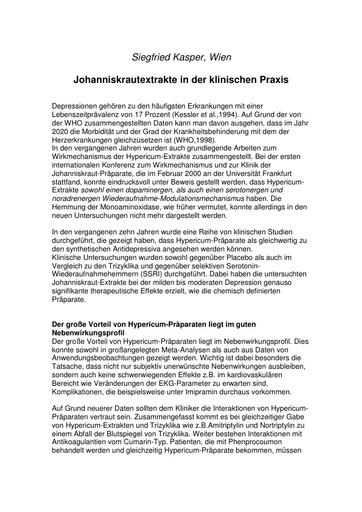 Prof  Kasper Statement Juni 2001