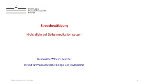 Prof  Dr  Andreas Hensel Präsentation