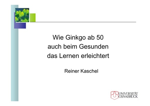 Dr  Kaschel Folien