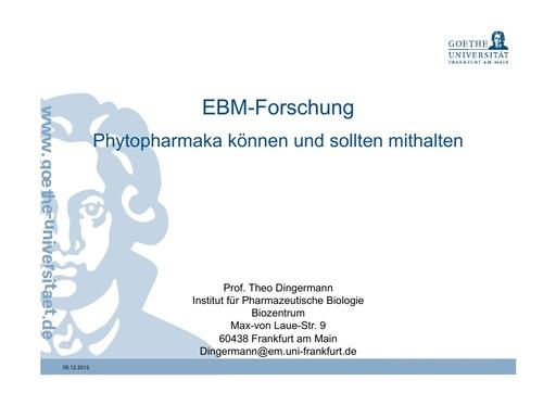 Prof Dingermann 5 Dez 2012