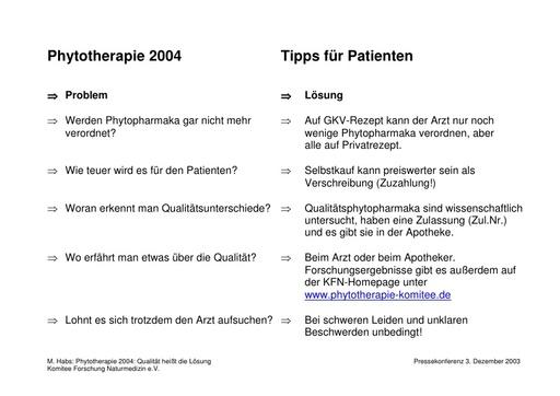 Prof  Habs Folien Dez  2003