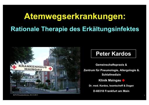Dr Kardos Präsentation 04 12 2013