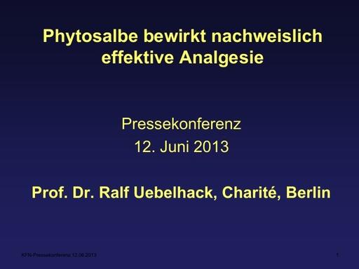 Prof Uebelhack Präsentation